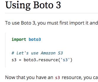 boto3でs3にアクセス – NaLabo Blog